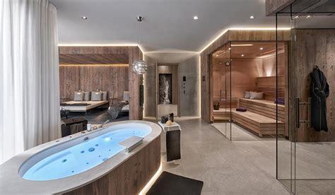 Badezimmer Modern Mit Sauna by Gasteiger Bad Kitzb 252 Hel Wellness Sauna Dfbad