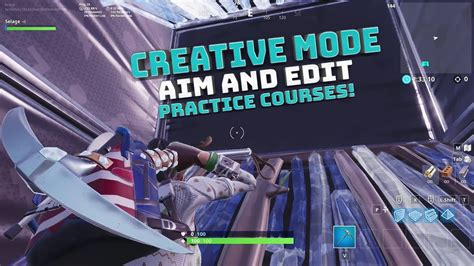 fortnite aim  edit courses codes  description