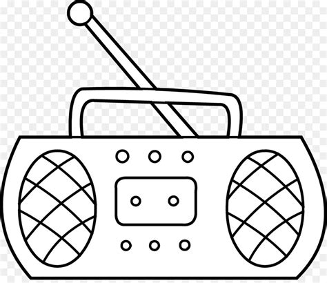 mewarnai gambar radio animasi