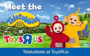 Teletubbies Laa-Laa & Po come to Toys 'R' Us! in Cardiff