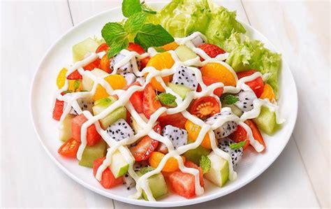 membuat salad buah  enak  rumah sipendik