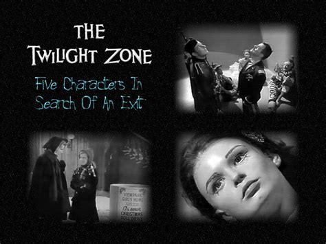 Twilight Zone Images The Twilight Zone Images Five Characters In Search Hd