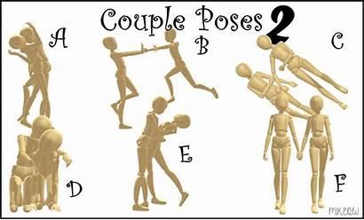 Mmd Poses Dl Couple Pose Pack Deviantart