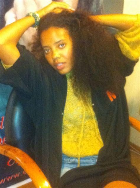 angela simmons natural hair
