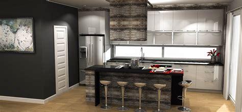 plan cuisine moderne cuisine moderne plan maison moderne