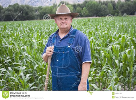 Old Farmer Working In His Fields Stock Photo - Image: 13218350