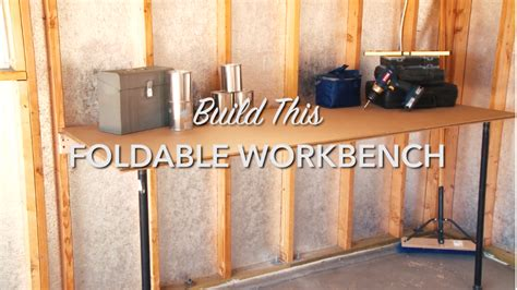space saving diy workbench tuff shed