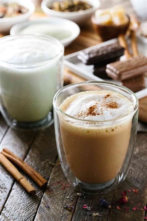 tea latte blissful five minute tea latte recipe jessica gavin