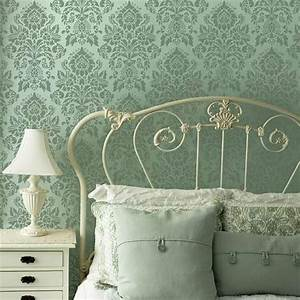 Modello Designs Large Damask Wall Stencils French Vintage Wallpaper
