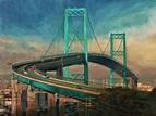 Avid Art: Vincent Thomas Bridge #16 - Part 1 - The Story