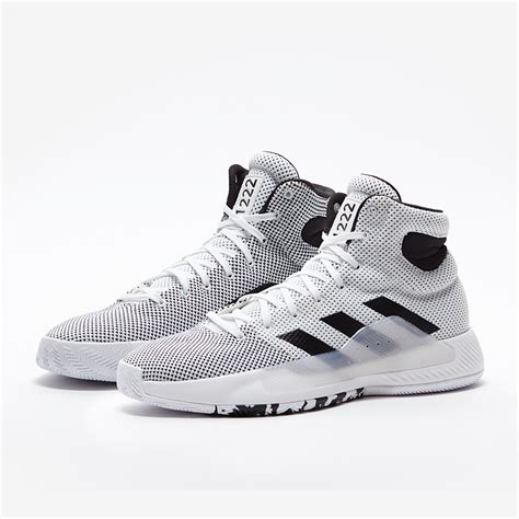 mens shoes adidas pro bounce madness  white basketball