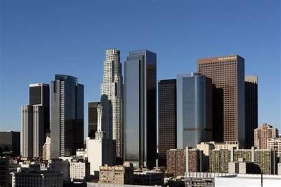Angeles Los California Skyline Central Tif Pixels