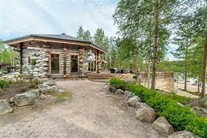 Luxury log cabin in Finland
