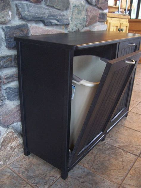 kitchen garbage cabinet 1000 ideas about trash can cabinet on trash 1758