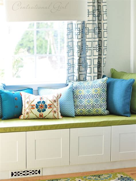 simple sew box cushion cover centsational style