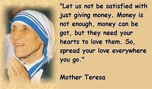 Mother Teresa Famous Quotes. QuotesGram