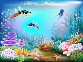 Aquarium Wall Mural