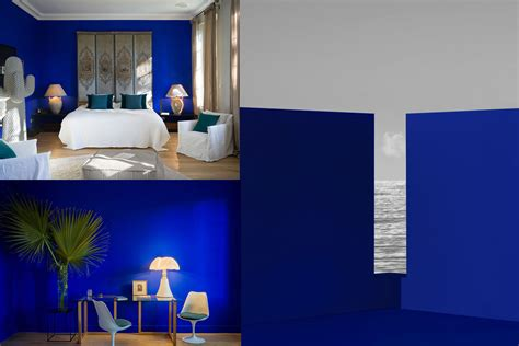 friday powerful yves klein blue paint color and design inspiration authentic interior