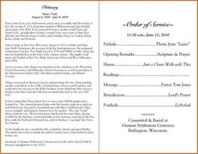 printable funeral program templates 6 funeral program sles authorizationletters org