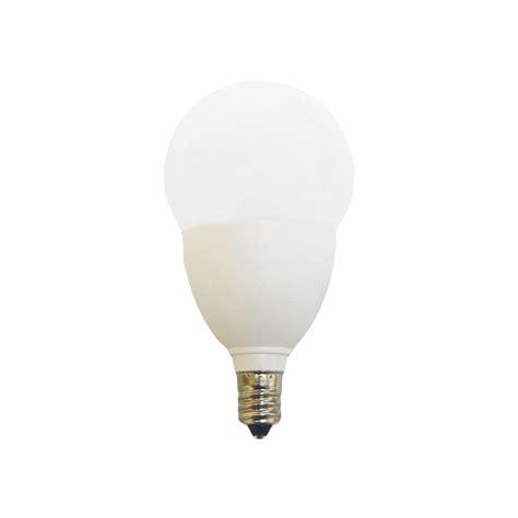 ecosmart 60w equivalent soft white a15 e12 base led light