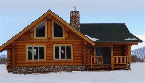 Small Log Home Plans With Loft by Log Home Plans Loft Cabin Floor Homes House Plans 12617