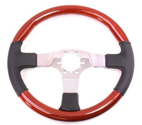 wood steering wheel nos vw rabbit jetta golf bmw