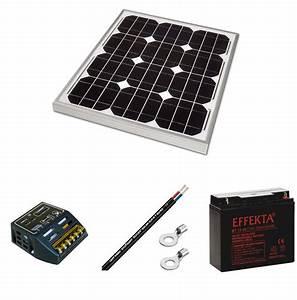 Régulateur Pour Panneau Solaire : kit panneau solaire 30w 12v pour site isol ~ Medecine-chirurgie-esthetiques.com Avis de Voitures