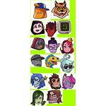 Prom Monster Sheet Icons Spriters Resource Return