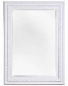Spiegel Mit Weißem Rahmen : spiegel mit einzigartigem wei em rahmen ~ Indierocktalk.com Haus und Dekorationen