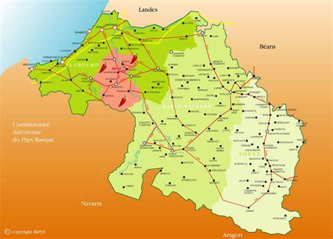 vente de cuisine d exposition carte du pays basque bipia