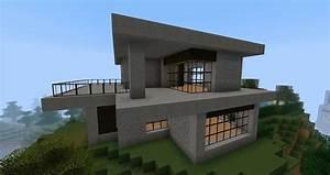 Minimalist, House, Design, Easy, Best, Minecraft, House, Design