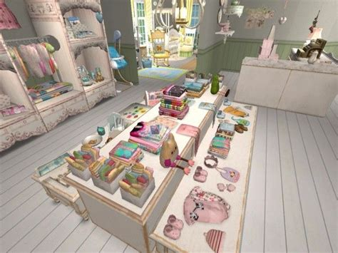 baby boutique virtual retail decor displays
