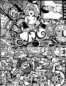 Contemporary Style of Cool Sharpie Designs - MARGUSRIGA ...