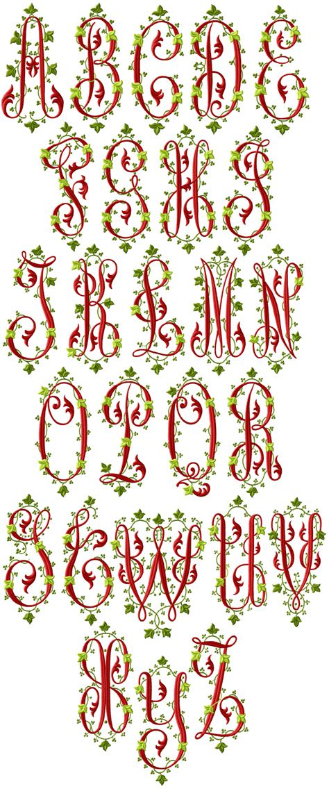 victoriana alphabet