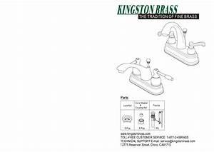 Kingston Brass Hks7611al English Vintage 4 In  Centerset 2