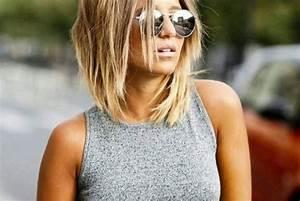 Coiffure Blonde Mi Long : coupes cheveux mi longs id es tendances tre belle ~ Melissatoandfro.com Idées de Décoration