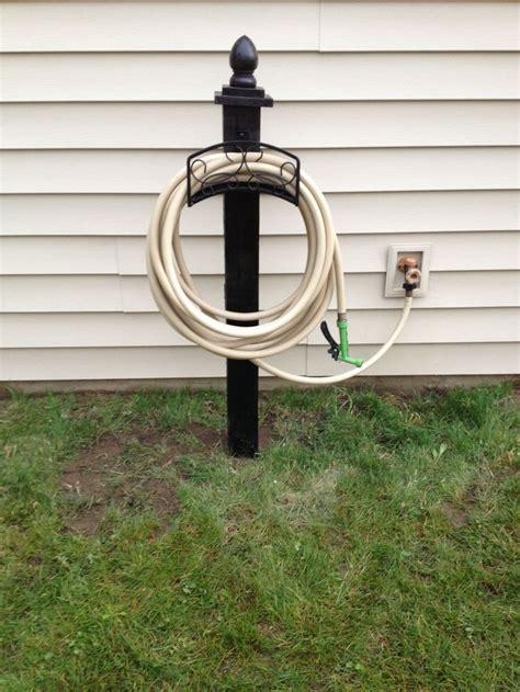 25 best ideas about garden hose holder on