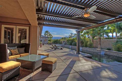 desert outdoor living areas