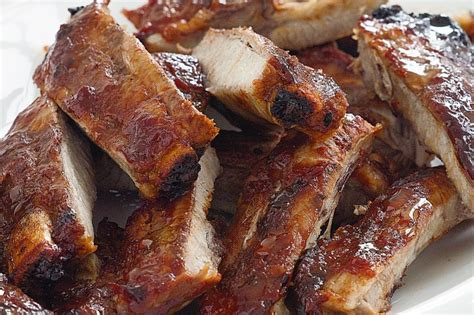 pork ribs sticky chilli pork ribs recipe taste com au