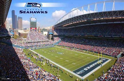 centurylink field seattle seahawks gameday poster