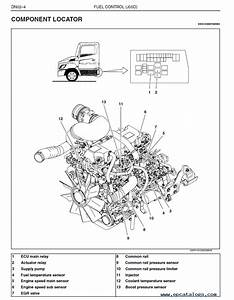 Hino Truck 2007 Workshop Manual For J05d