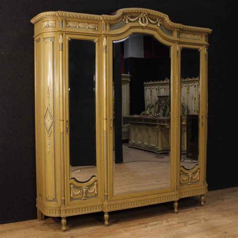 armadio stile inglese armadio italiano laccato in stile luigi xvi anticswiss