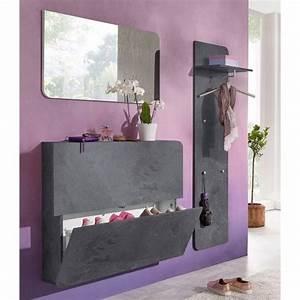 Porte Manteau Entrée : range chaussure avec porte manteau ~ Melissatoandfro.com Idées de Décoration