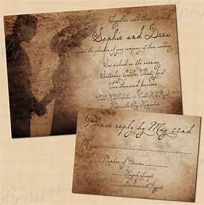 premium frankenstein39s antique printable halloween wedding With buy halloween wedding invitations