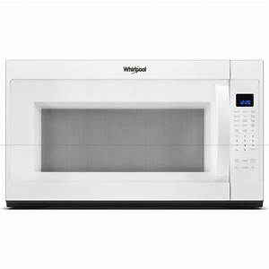 Whirlpool 30 In W 2 1 Cu  Ft  Over The Range Microwave In