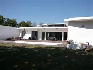 Maison Architecte Plain Pied : photo de maison d architecte plain pied ~ Melissatoandfro.com Idées de Décoration