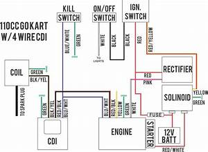 Wiring Diagram 110cc Atv How To Wire Chinese Atv
