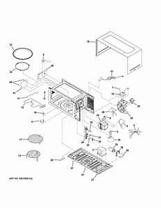 Ge Peb9159ej2es Countertop Microwave Parts