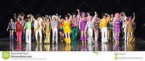 Children dancing on stage editorial stock image. Image of ...