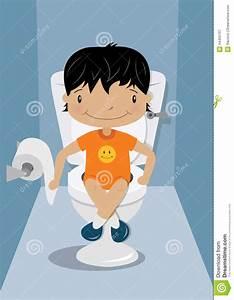 Toilette Pour Enfant : formation de toilette d 39 enfants illustration de vecteur ~ Premium-room.com Idées de Décoration